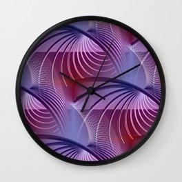 tunnel pattern -1- Wall Clock