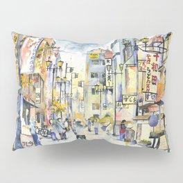 Asakusa street in Japan Pillow Sham
