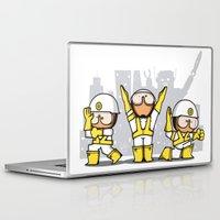 beastie boys Laptop & iPad Skins featuring Beastie boys tribute by rodouyeha