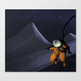 Deadguy Moonpatrol Canvas Print