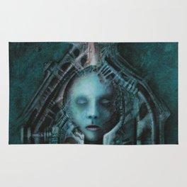 Bullet acryl on canvas 100 x 80 cm Rug