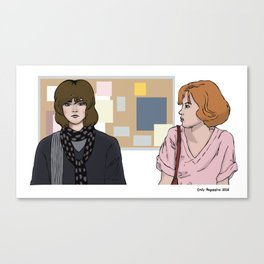 The Girls Of the Breakfast Club Canvas Print