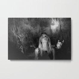 Prometheus Cave Metal Print