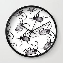 Crawlies Wall Clock