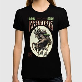 """Here Comes Krampus"" T-shirt"