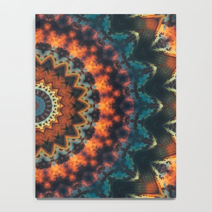 Fundamental Spiral Mandala Notebook
