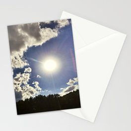 Sunny Maine Day on Lake Pemaquid Stationery Cards