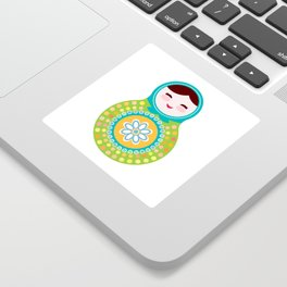 babushka doll matryoshka Sticker