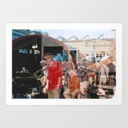 Smith - overlapper Art Print