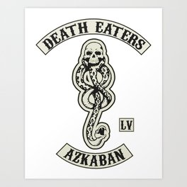 Death Eaters Art Print
