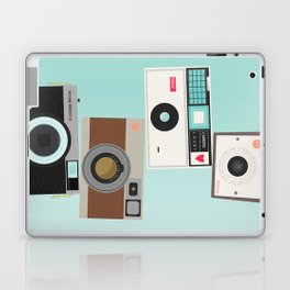 Retro Camera Print  Laptop & iPad Skin