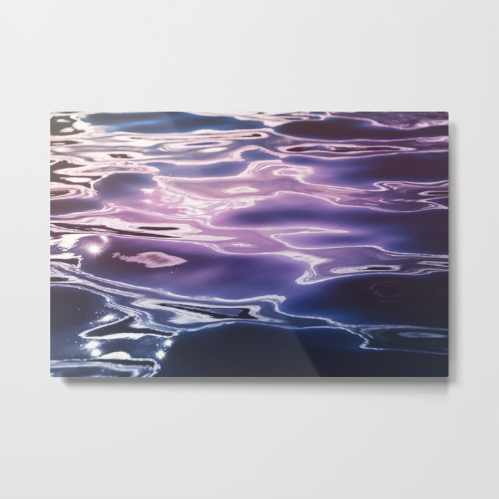 Fluid summer Metal Print