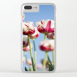Tulips in Bloom Clear iPhone Case