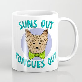 Suns Out Tongues Out Purple Coffee Mug