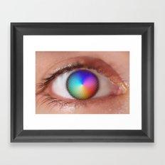 Pantone Eye Vision  Framed Art Print