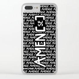 Amen[se] Clear iPhone Case