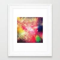 celestial Framed Art Prints featuring Celestial by Timothy Davis