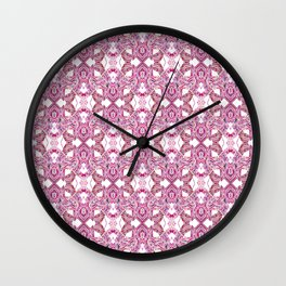 LINEA 011 Abstract Collage Wall Clock