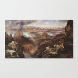 Thomas Moran - Grand Canyon of the Colorado River Canvas Print