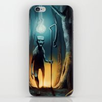 kieren walker iPhone & iPod Skins featuring Walker by SEBS