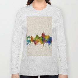 Geneva Switzerland Skyline Long Sleeve T-shirt