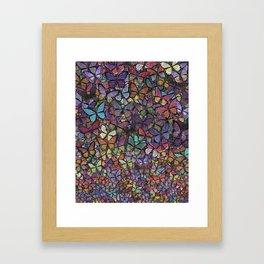 butterfly phantasm Framed Art Print