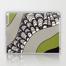 Green Rolled Laptop & iPad Skin