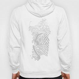 Sardinian fingerprint (black) Hoody