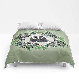 Christmas Badger Comforters
