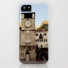 Clock Tower 2 iPhone Case
