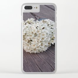 The stink flowers Clear iPhone Case