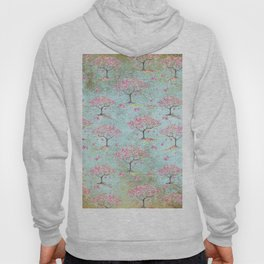 Spring Flowers - Cherry Blossom  Tree Pattern Hoody