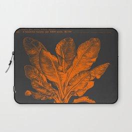 Banana Plant Illustration Laptop Sleeve