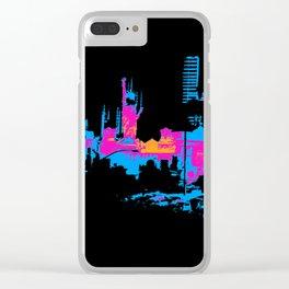 Las Vegas Cityscape Clear iPhone Case