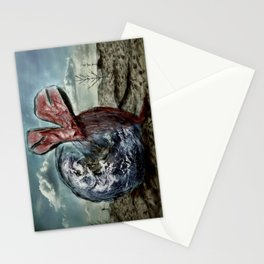 Save our World 13  Stationery Cards