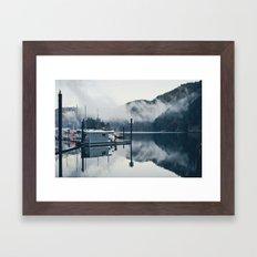 Mist Framed Art Print