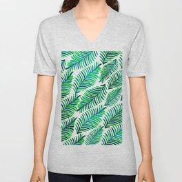 Palm Solace #society6 #buyart #decor Unisex V-Neck