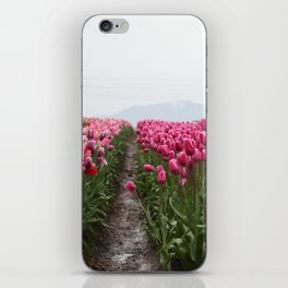 tulip field #society6 #decor #buyart iPhone Skin