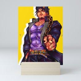 Jotaro Kujo Mini Art Print