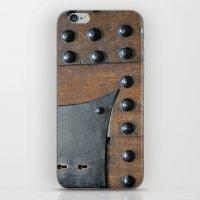 door iPhone & iPod Skins featuring Door by constarlation