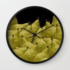 Etrogs Wall Clock