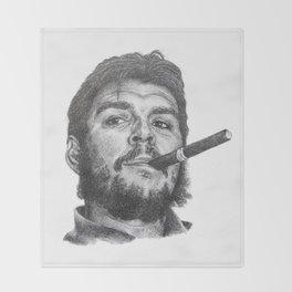 Che Guevara Throw Blanket