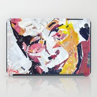 lama iPad Cases featuring Calai Lama by Phil Fung
