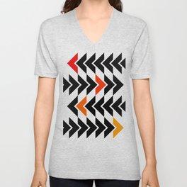 Arrows Graphic Art Design Unisex V-Neck