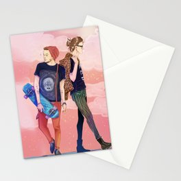 Walk walk fashion baby.  Stationery Cards