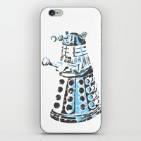 dalek iPhone & iPod Skins featuring Dalek Graffiti by spacemonkey89