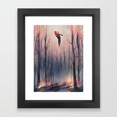 smoulder Framed Art Print
