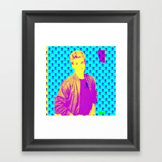 Zach Morris Framed Art Print