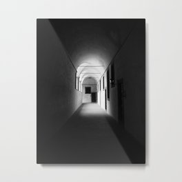 Black and white silence Metal Print