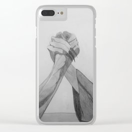 Wrestling with Demons Clear iPhone Case